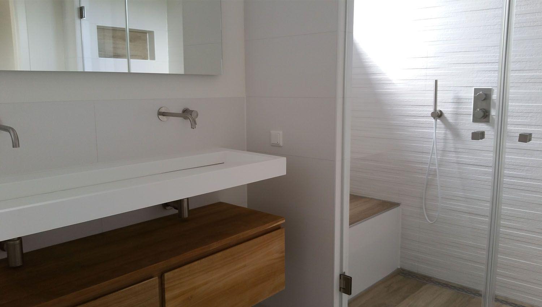 Afbeeldingsresultaat voor badkamer meubel plank met schaal