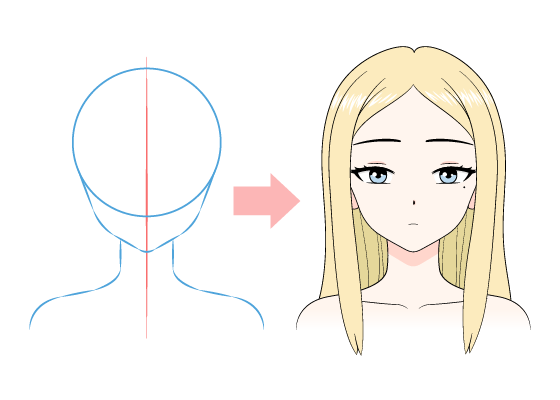 How To Draw Anime Manga Tutorials Animeoutline In 2020 Girl Eyes Drawing Girl Face Drawing How To Draw Anime Eyes