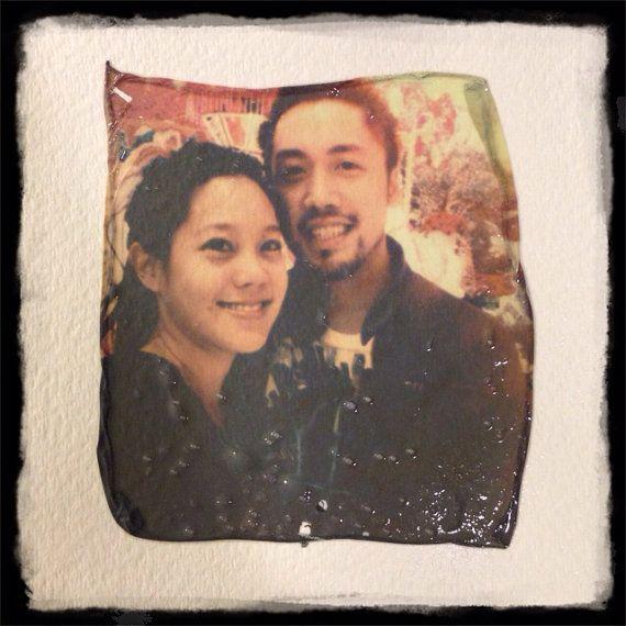 Custom Polaroid Transfer of YOUR Photo - ANY Photo Transferred onto Heavyweight Watercolor Paper - Valentines Day Gift Ideas Photography Art...