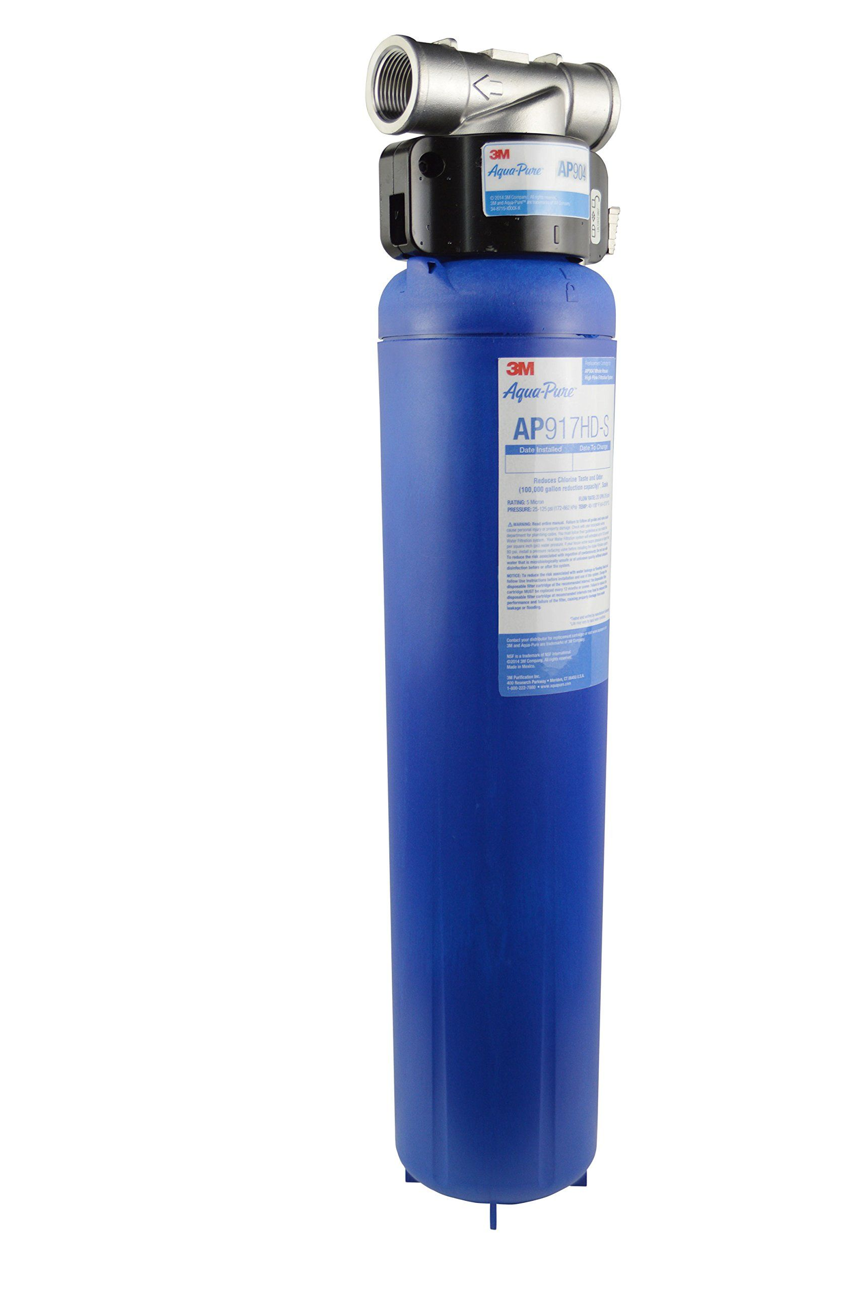 Aquapure whole house water filtration system water
