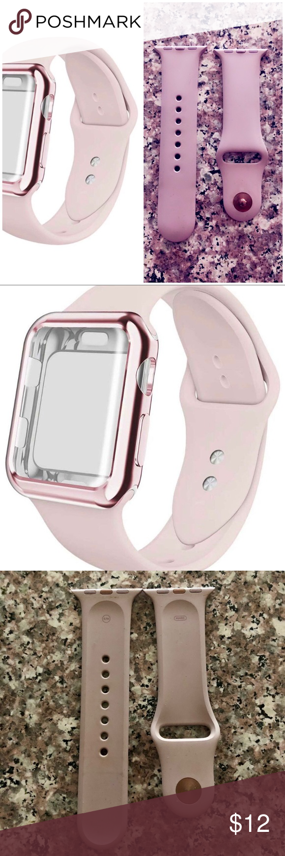 SOLD🛑Pale pink Apple Watch Band 38mm 38mm apple watch