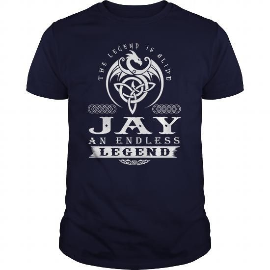 I Love JAY The Legend Is Alive JAY An Endless Legend v1.0 Shirts & Tees