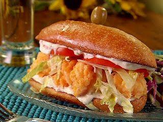 Shrimp Po' Bubba Sliders Recipe