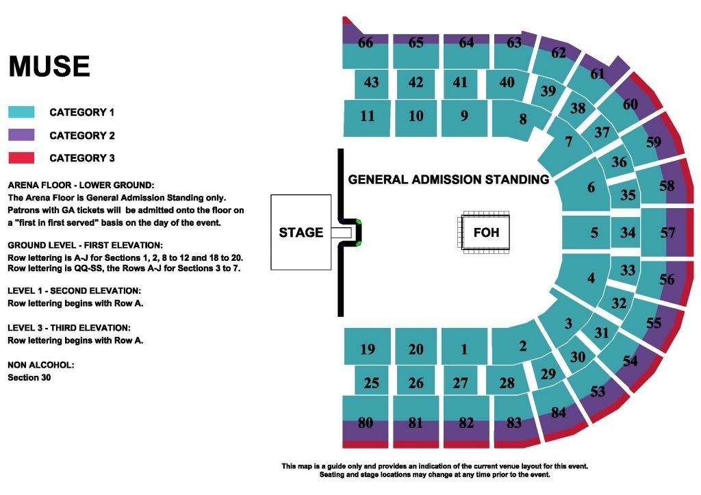 The Most Elegant Qudos Arena Seating Plan