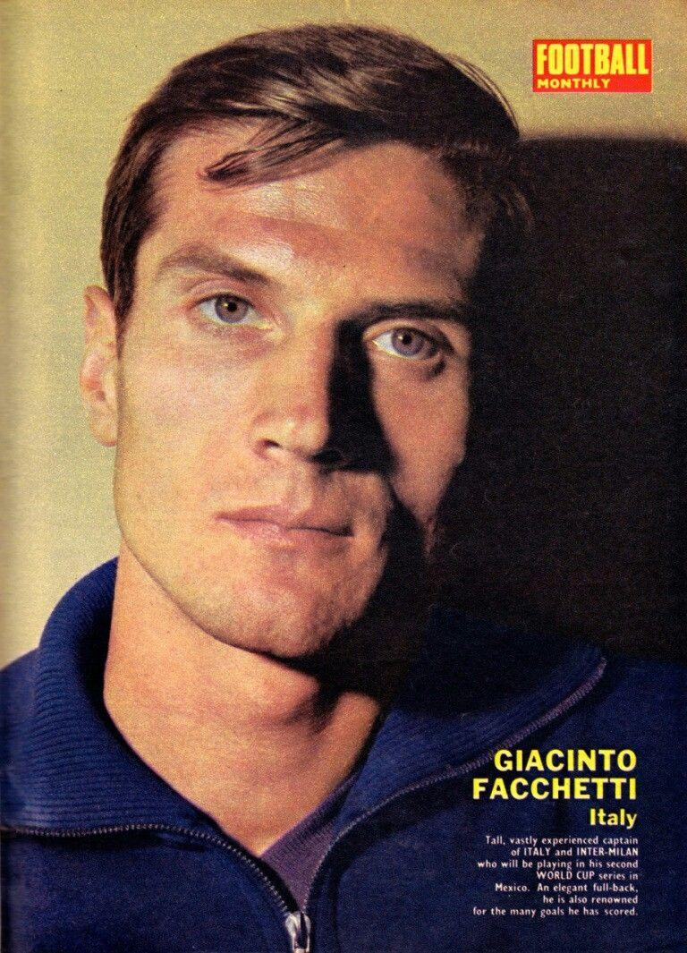 Giacinto Facchetti of Italy in 1970