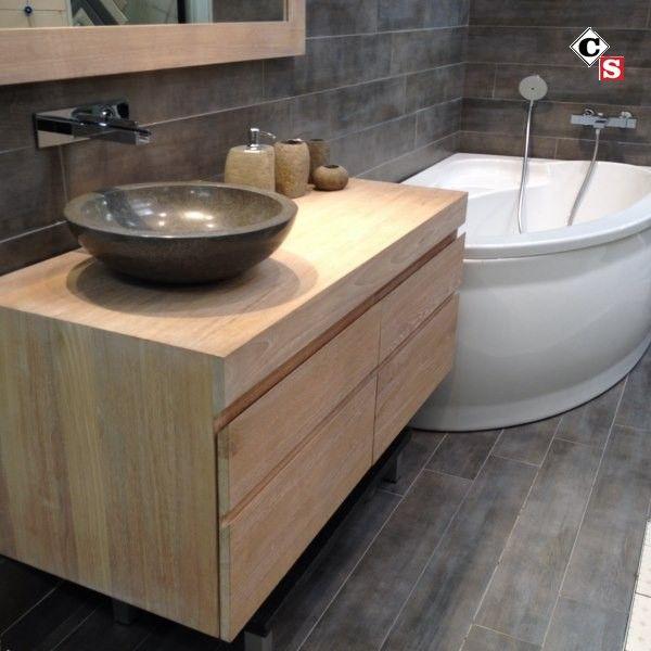 meuble salle de bain teck bouches du rhone