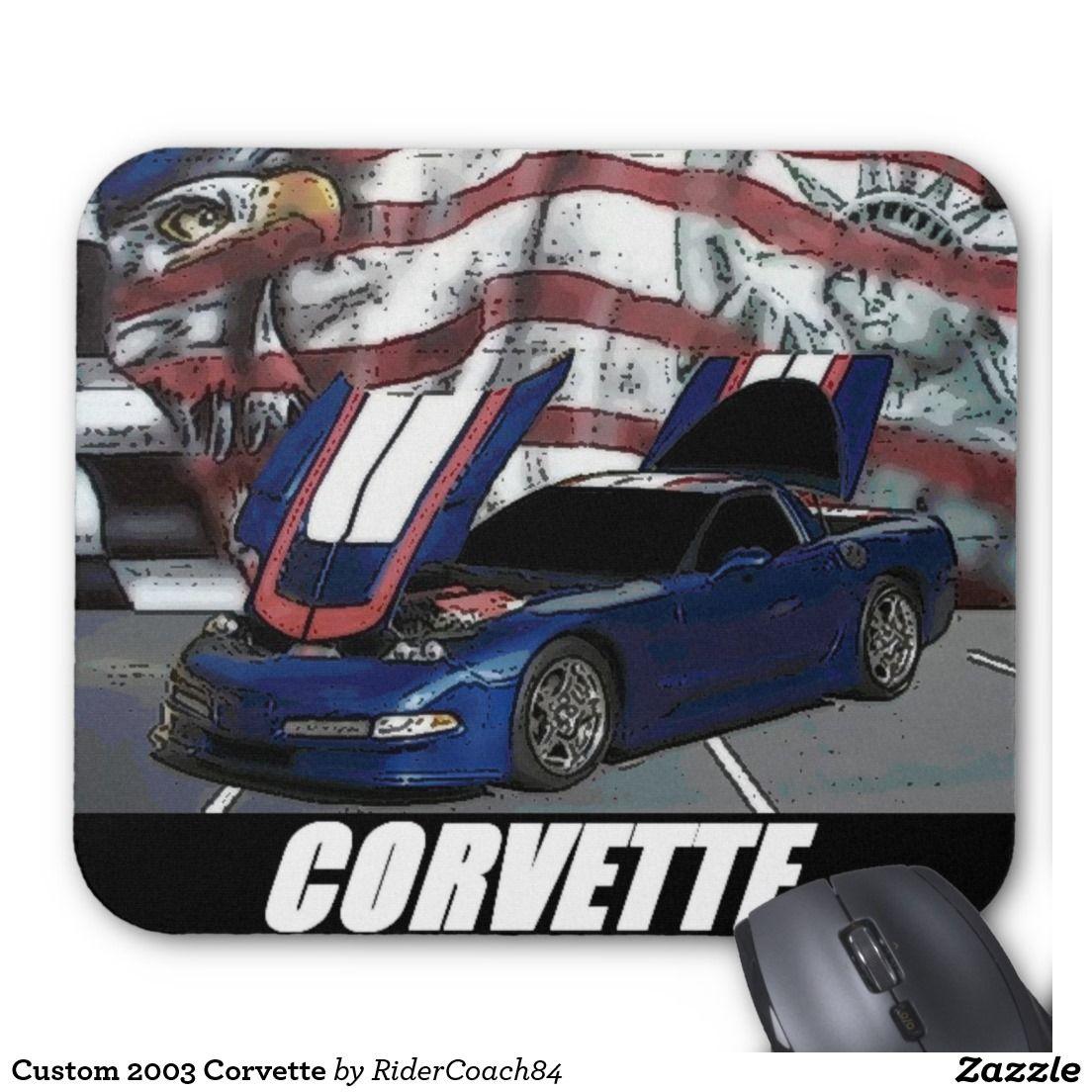 Custom 2003 Corvette Mouse Pad