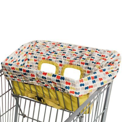Do You Really Need A Shopping Cart Cover This One S Cute Baby Shopping Cart Cover Cart Cover For Baby Baby Shopping Cart