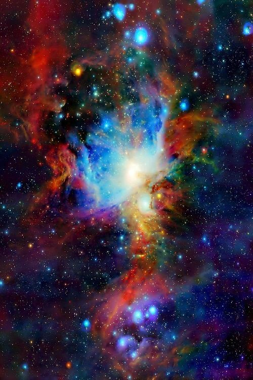 "2 Astronomy Outer Space Galaxy Art Trifid Nebula /& Center 8.5x11/"" Photo Prints"