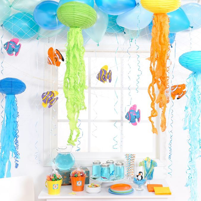 Octonauts Party Hanging decorations Octonauts party and Birthdays