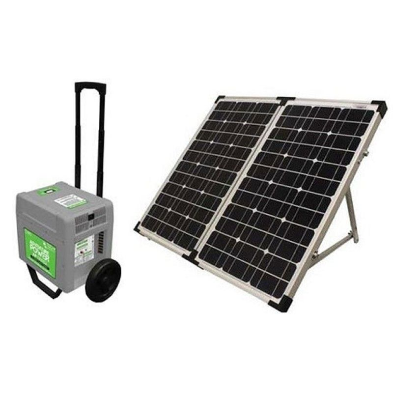Universal Power Group Portable Solar Power Generator System Solar Panels Solar Powered Generator Portable Solar Power