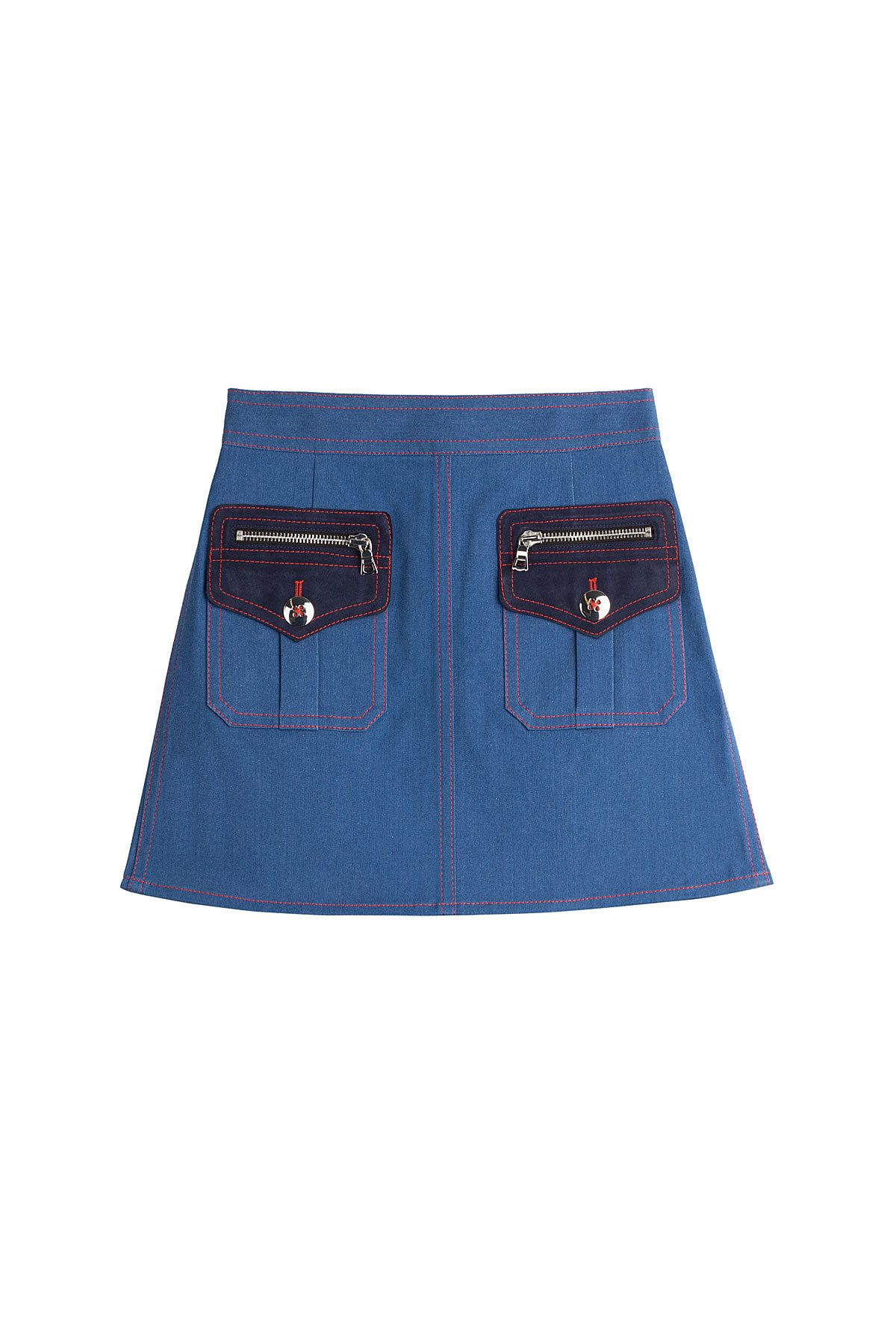 c81aa41aa Marc Jacobs Denim Mini Skirt | DENIM SKIRTS FOREVER! | Denim mini ...