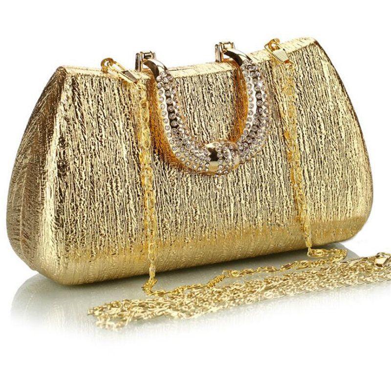f836df6468 Online Buy Wholesale metallic gold handbag from China metallic ...