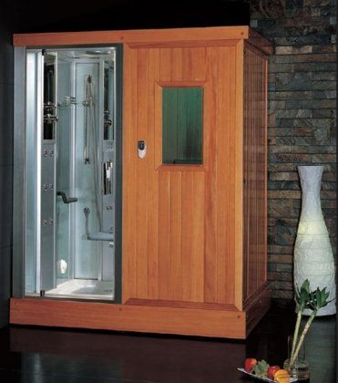 Platinum Steam Shower And Sauna Combo Unit With Steam Sauna