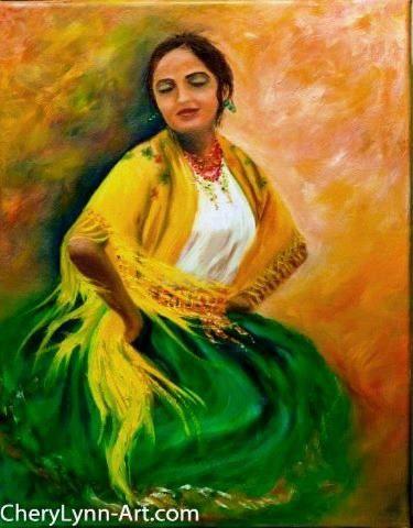 Soledad, artist: Cherylynn Ferrari  very talented contemporary artist.