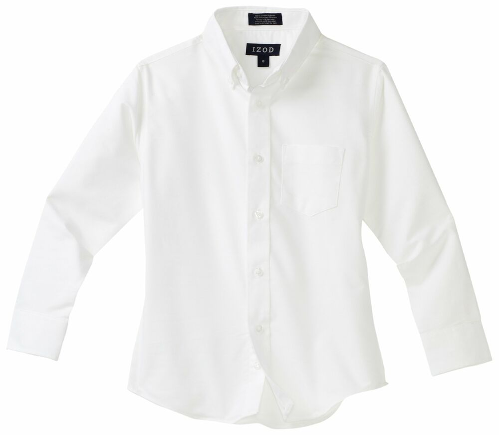 Izod Little Boys Long-Sleeve Oxford Shirt