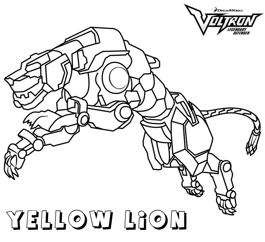 Voltron Coloring Pages Best Coloring Pages For Kids Coloring Pages For Kids Coloring Pages Lion Coloring Pages