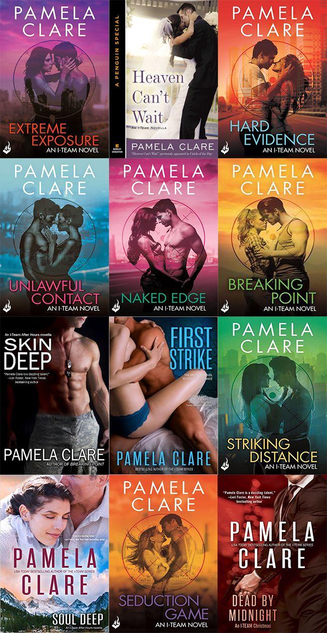 Pamela Clare I Team 1 A 3 Livros Romanticos Livros Erotismo
