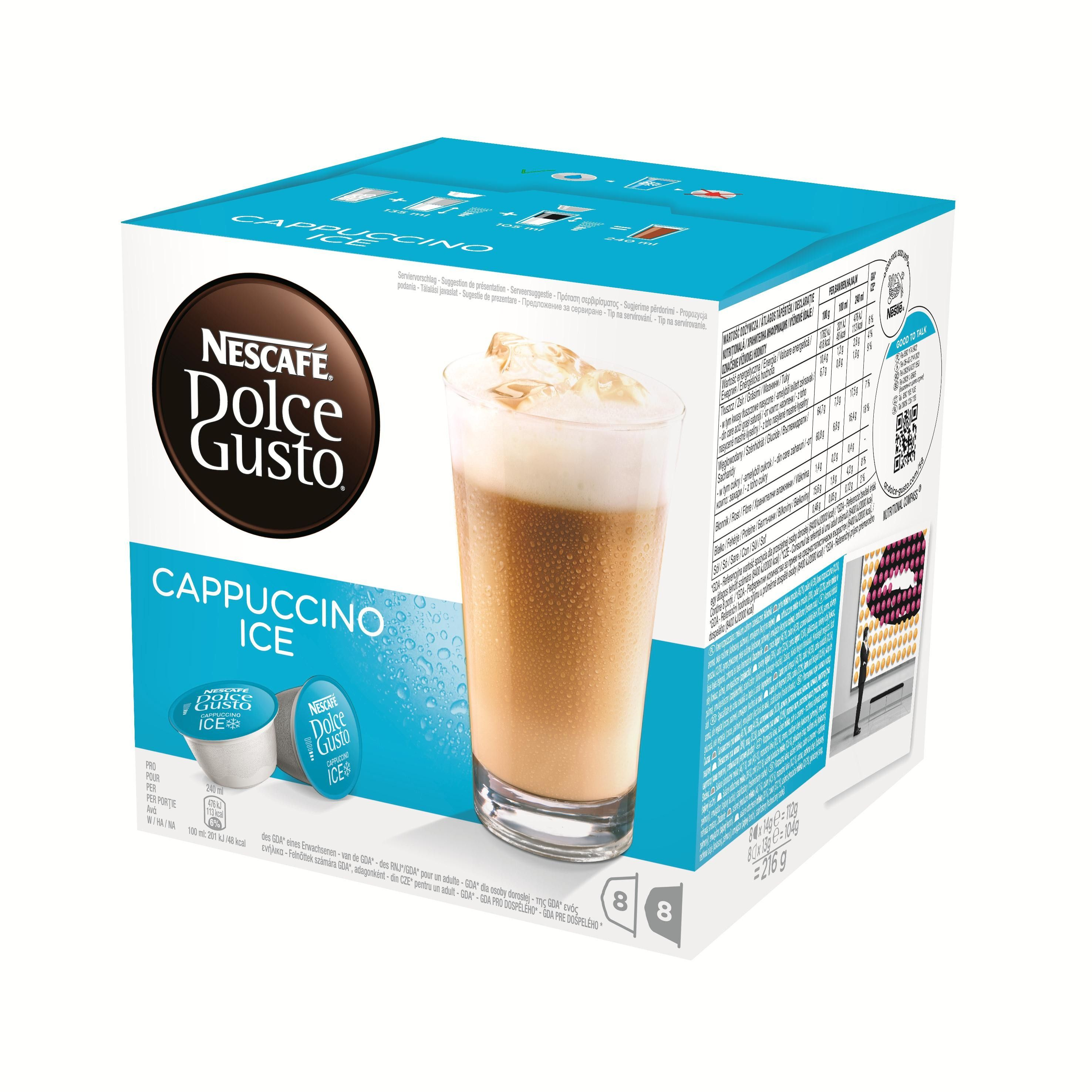 Nescafe Dolce Gusto Cappuccino Ice Ijscappuccino Dolce Gusto En