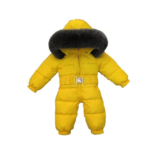0df424ce3773 LLPLUS Toddler Infant Baby Jumpsuits Boys Girls Winter Overalls Baby  Rompers Kids Snowsuit Duck wn Children