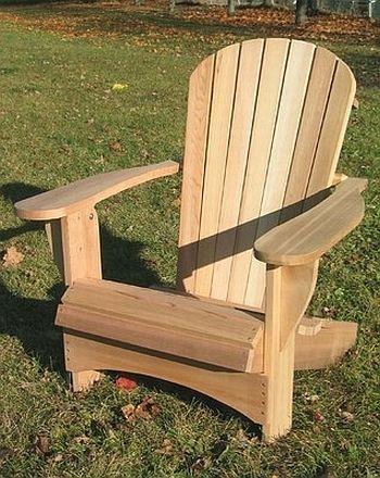 moderner Adirondack Chair   Holz   Pinterest   Gartenstühle, Heim ...