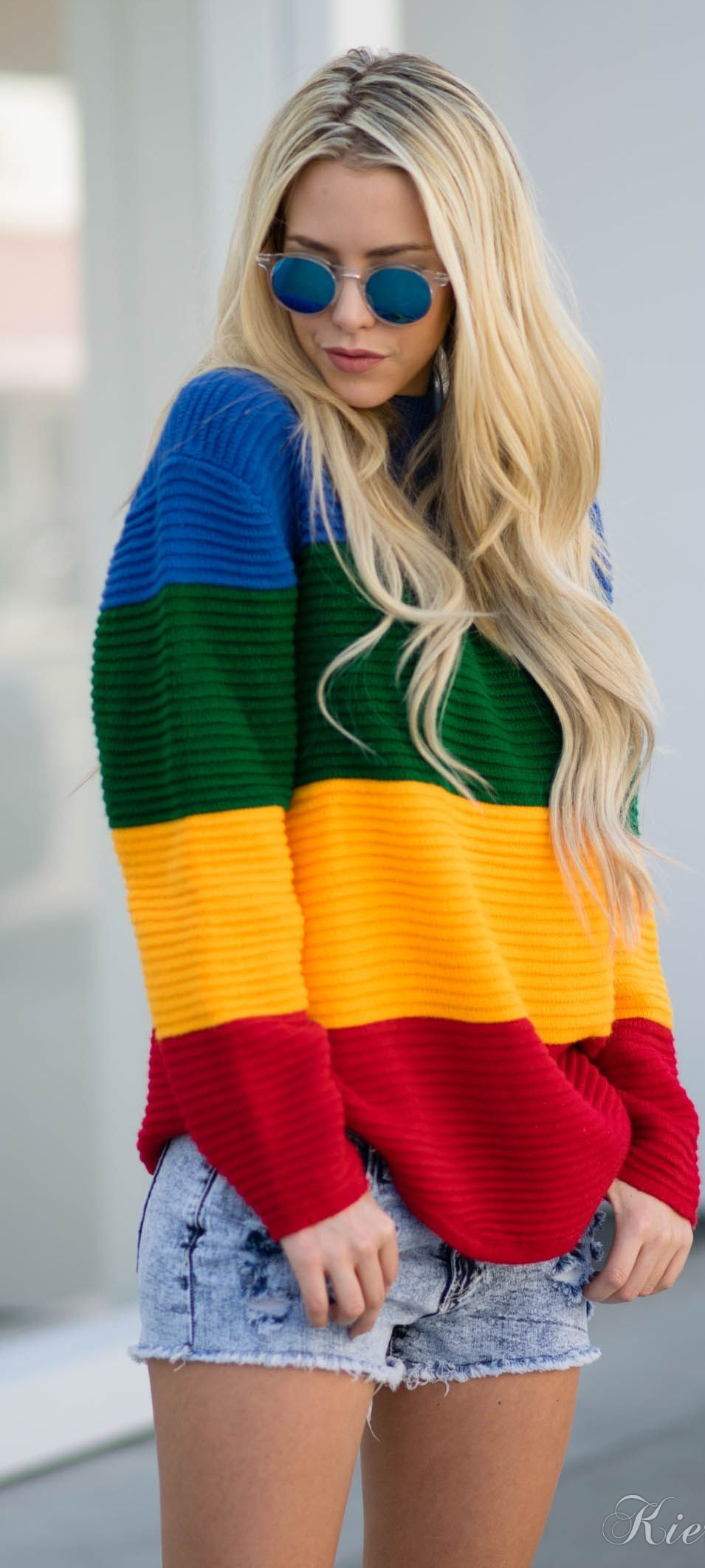 Crayon Sweater Outfit Idea