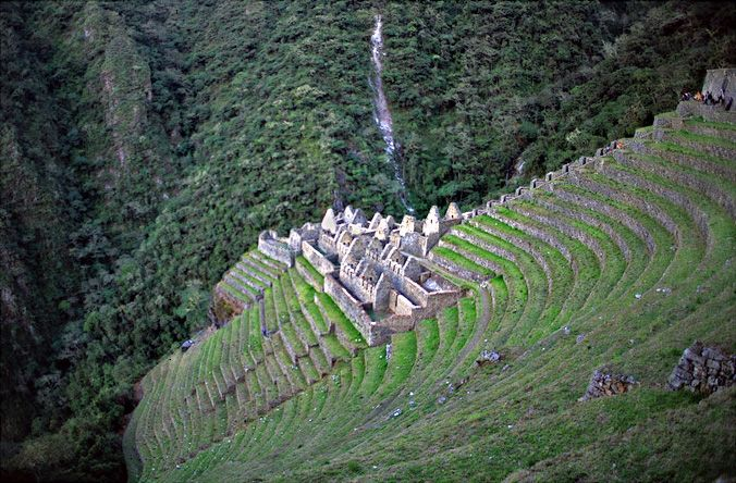 Wiñaywayna: Inca ruins that you can only reach when you are on the Inca Trail. www.x-tremetourbulencia.com #XtremeTourbulencia #IncaTrail #Cusco #Peru