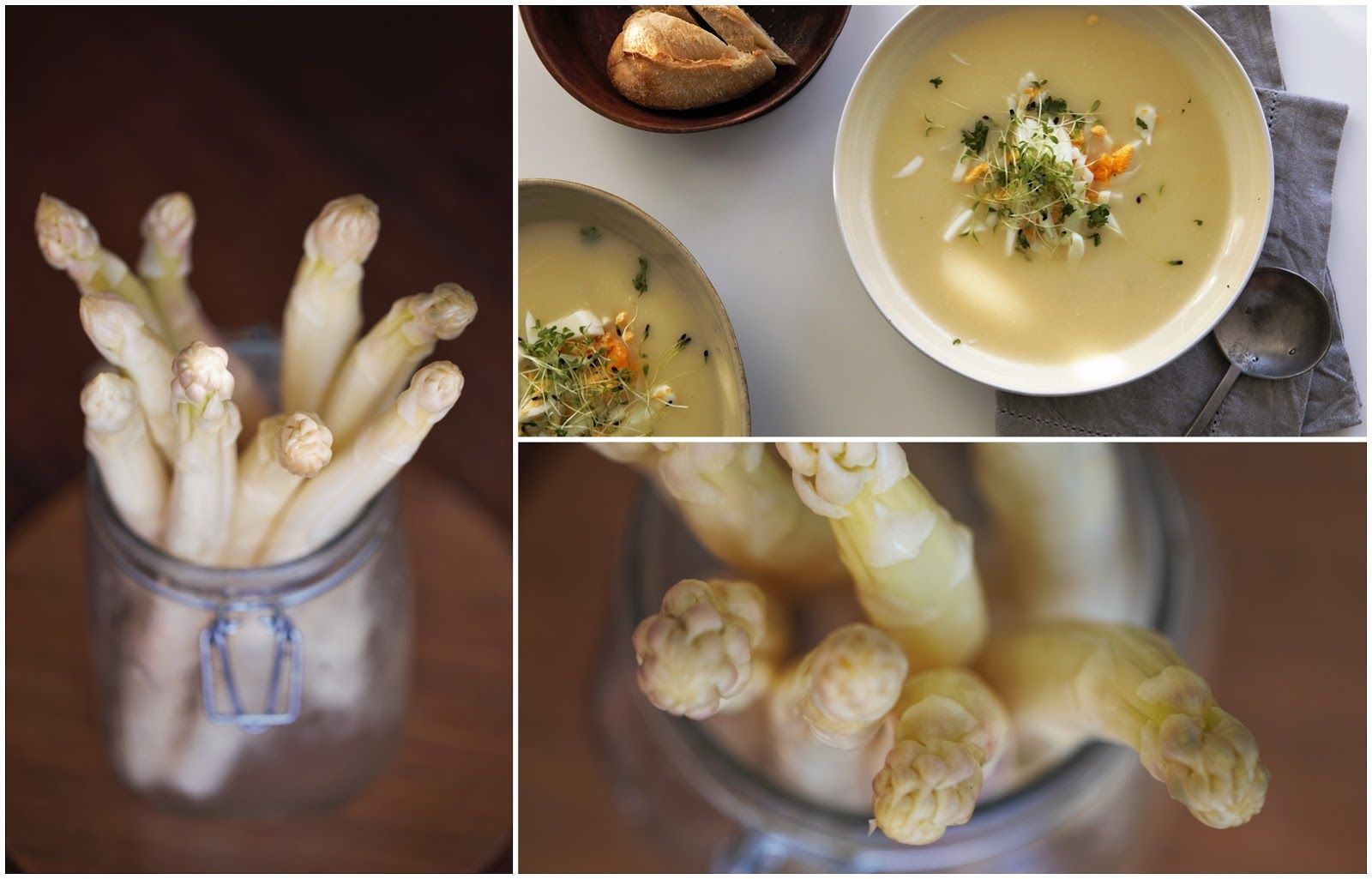100 decors: WEEKENDS IN THE KITCHEN: ASPARAGUS SOUP