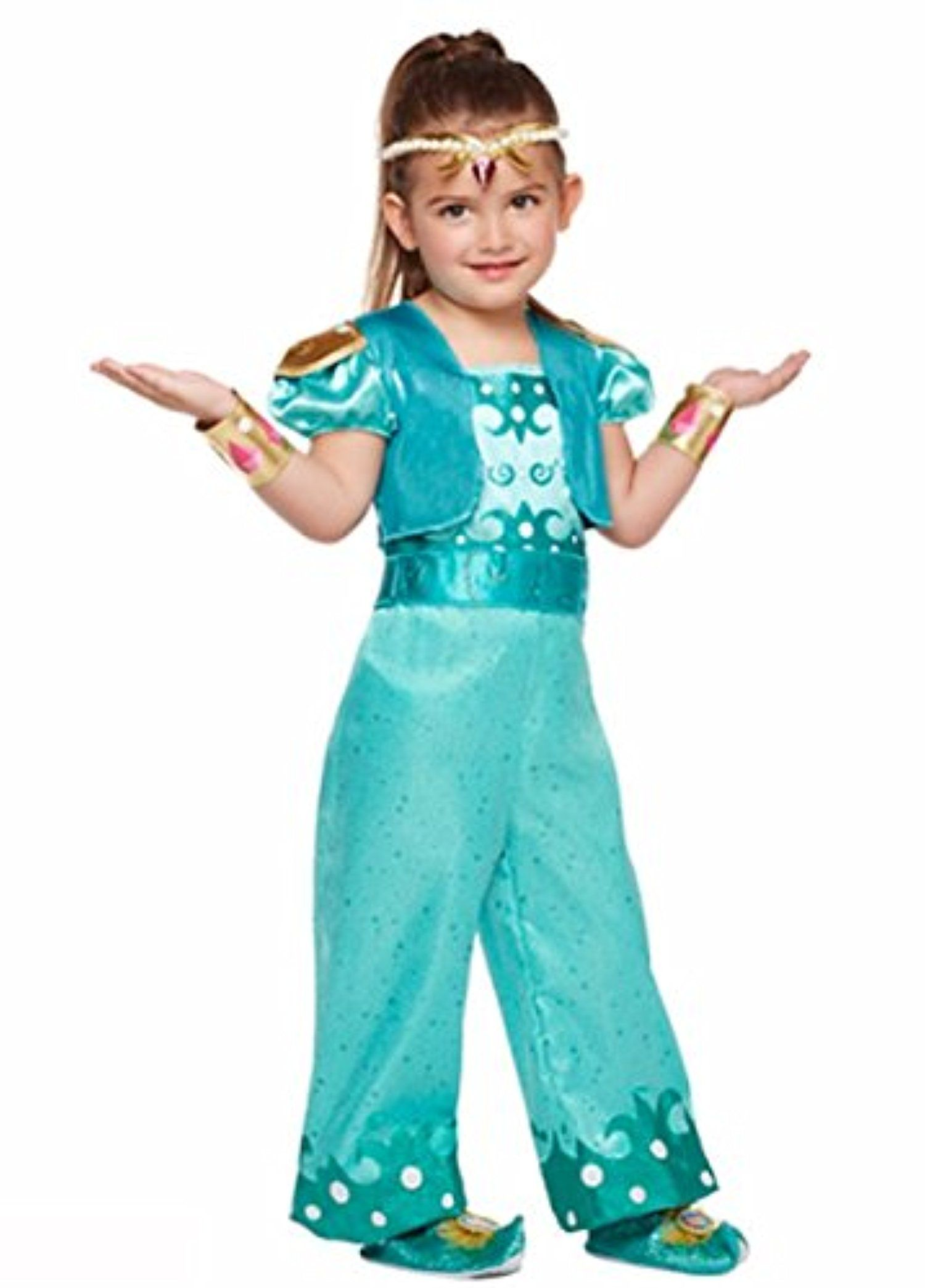 86303f78d Nickelodeon Shimmer and Shine - Shine Costume - Toddler   Child (5T ...