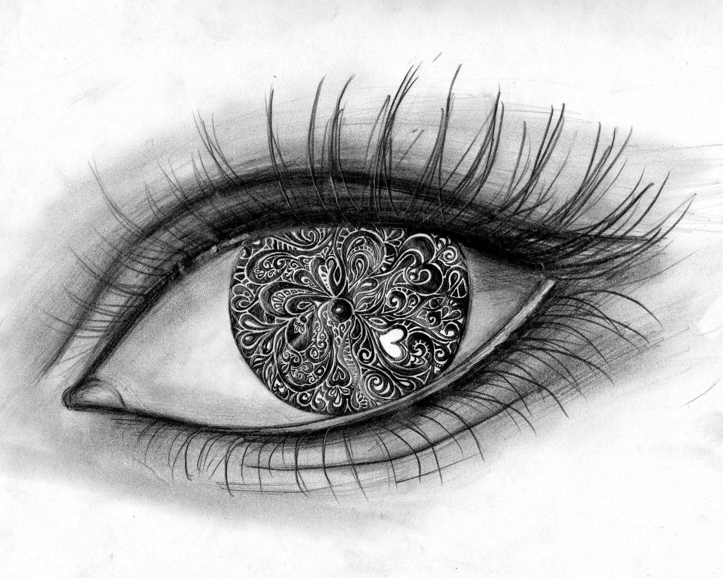 Pics For > Cool Images To Draw Eyes Cool eye drawings