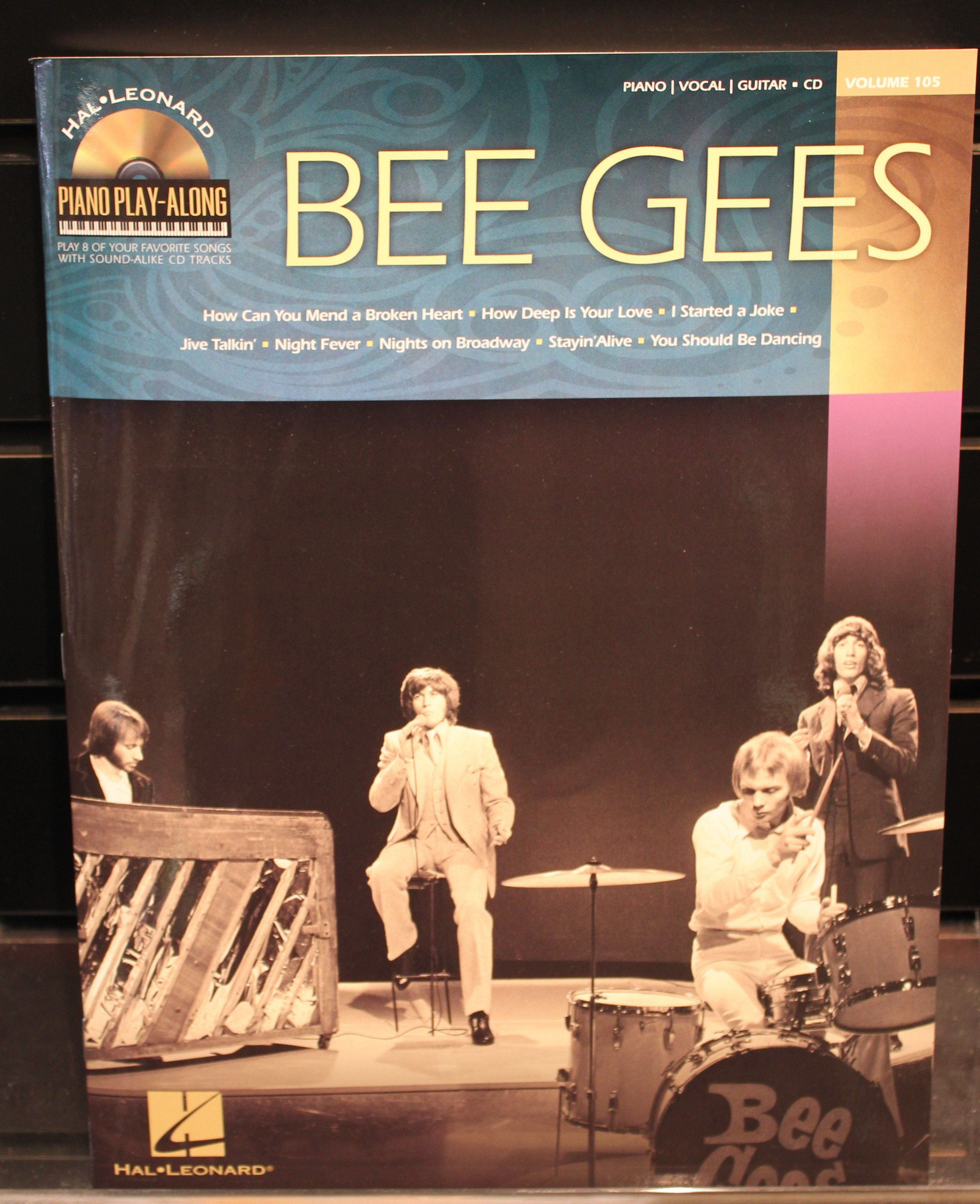Bee Gees Piano Play Along Volume 105 Softcover Songbook Wcd