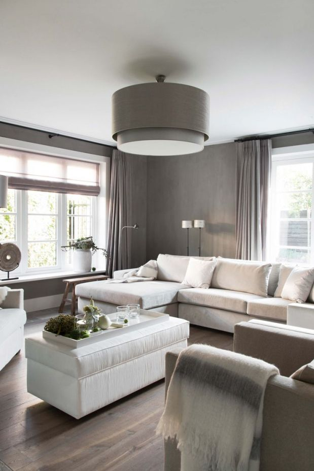 Afbeeldingsresultaat voor raambekleding woonkamer | Home Inspiration ...