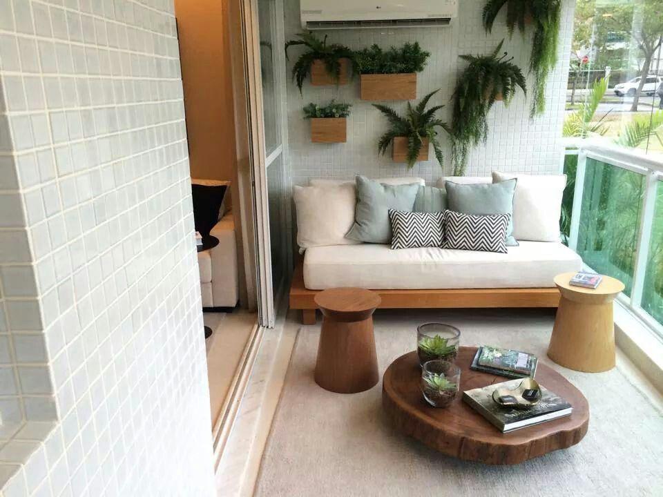 Varanda Decorada Com Imagens Casas Simples E Modernas Moveis