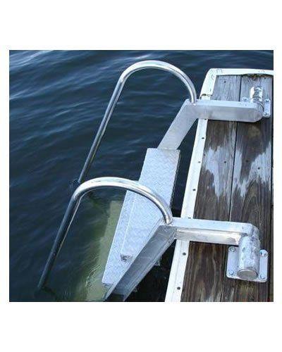 7 Step Wet Steps Dock Ladders Dock Ladder Lakefront Living Framing Construction