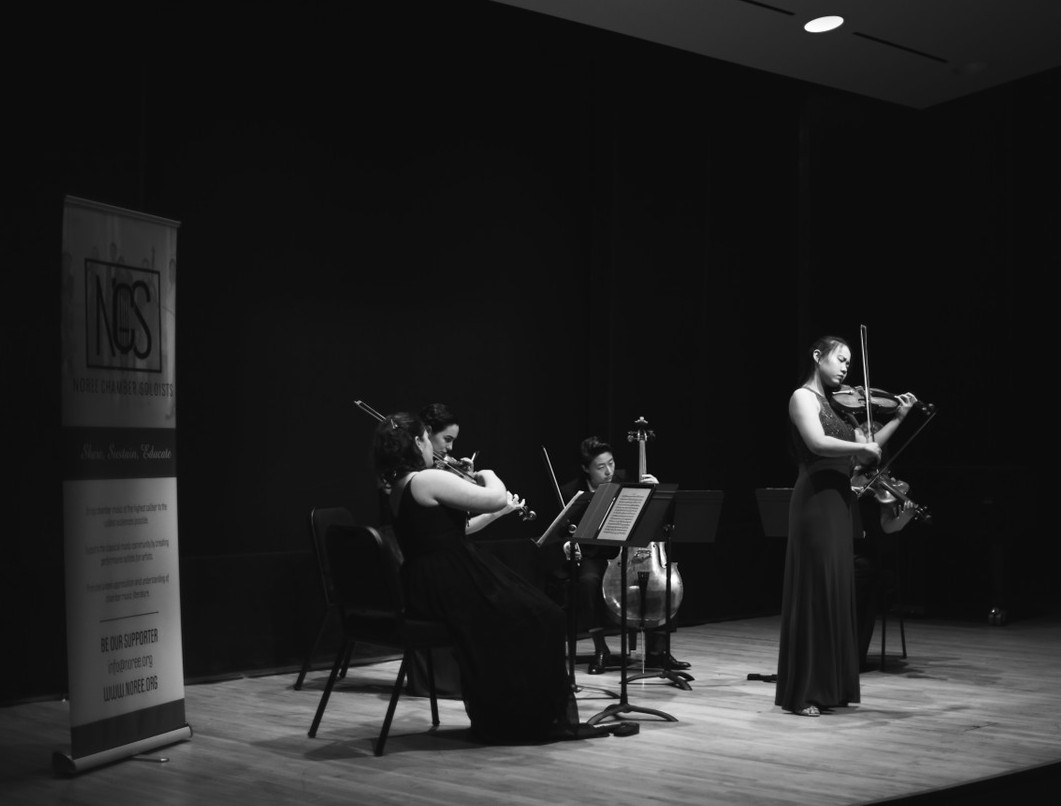 NCS violist Stella Chen shared an exciting performance of