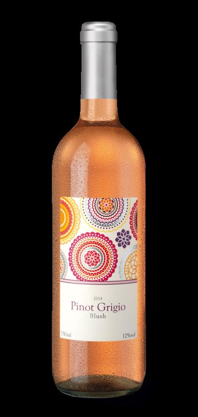 Blush Pinot Grigio 2014: lecker, süffiger Sommerwein ;-)