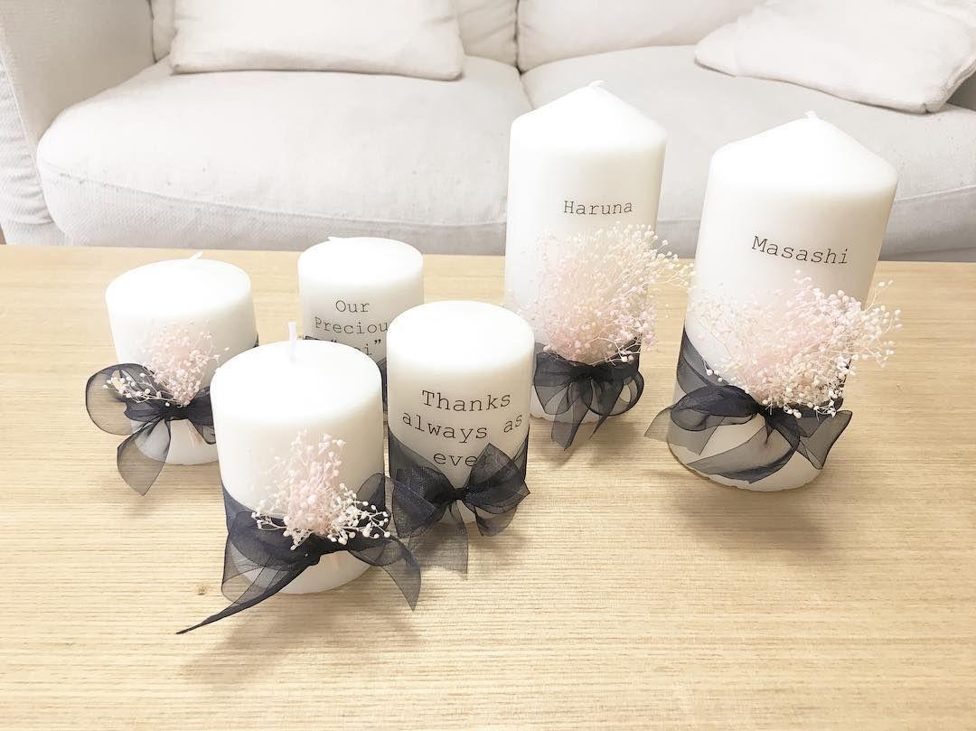 IKEAのキャンドルと100均の転写シールで作るテーブルナンバーまとめ. 結婚式