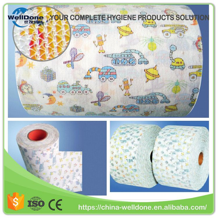 diaper material magic frontal tape
