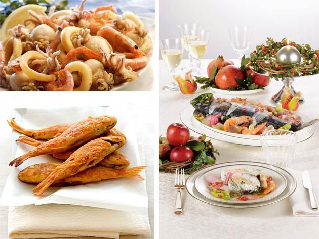 traditional italian holiday menus all kinds of fish and seafood based meals for christmas eve - Traditional Italian Christmas Eve Dinner Menu