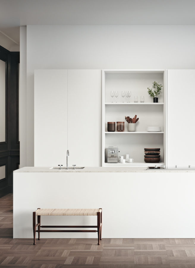 stylist and luxury supply lines for kitchen sink. Aesence  Minimal Kitchen Ideas White Styling Simplicity Minimalism