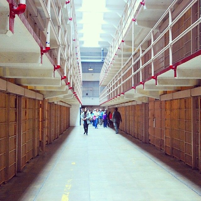 Alcatraz from the inside very special place! Definitely