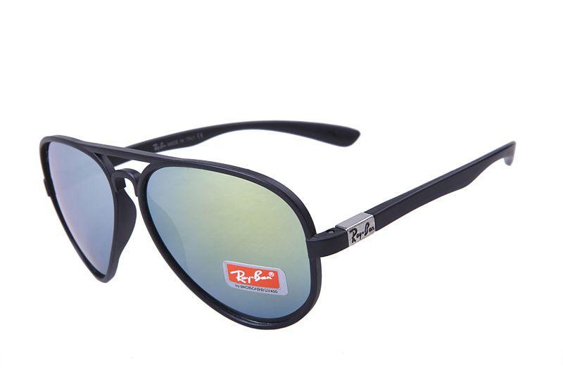 7489a4bcab5 Ray Ban Cats Flash Classic RB4125 Blue Black Sunglasses