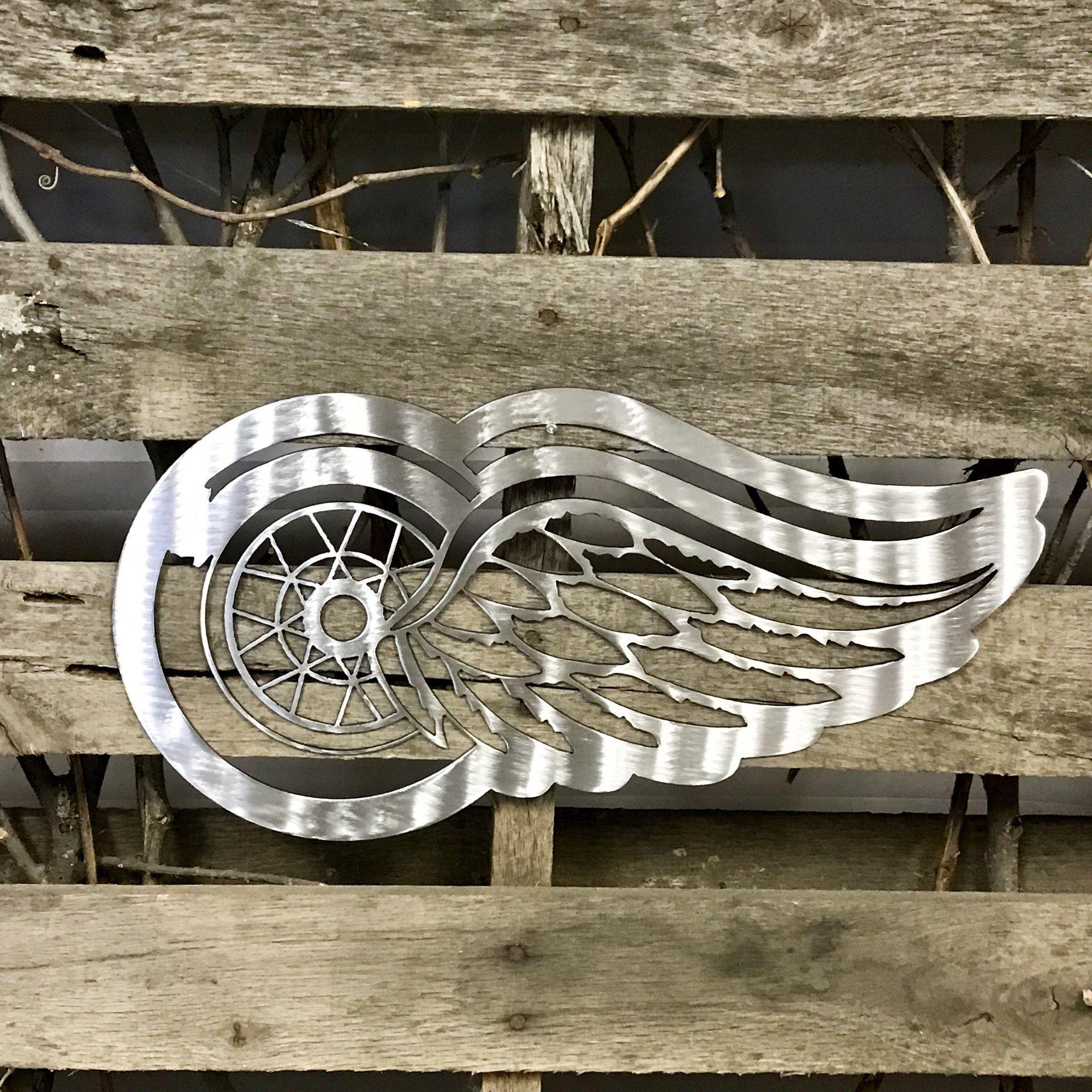 Winged wheel metal wall art plasma cutting pinterest metal