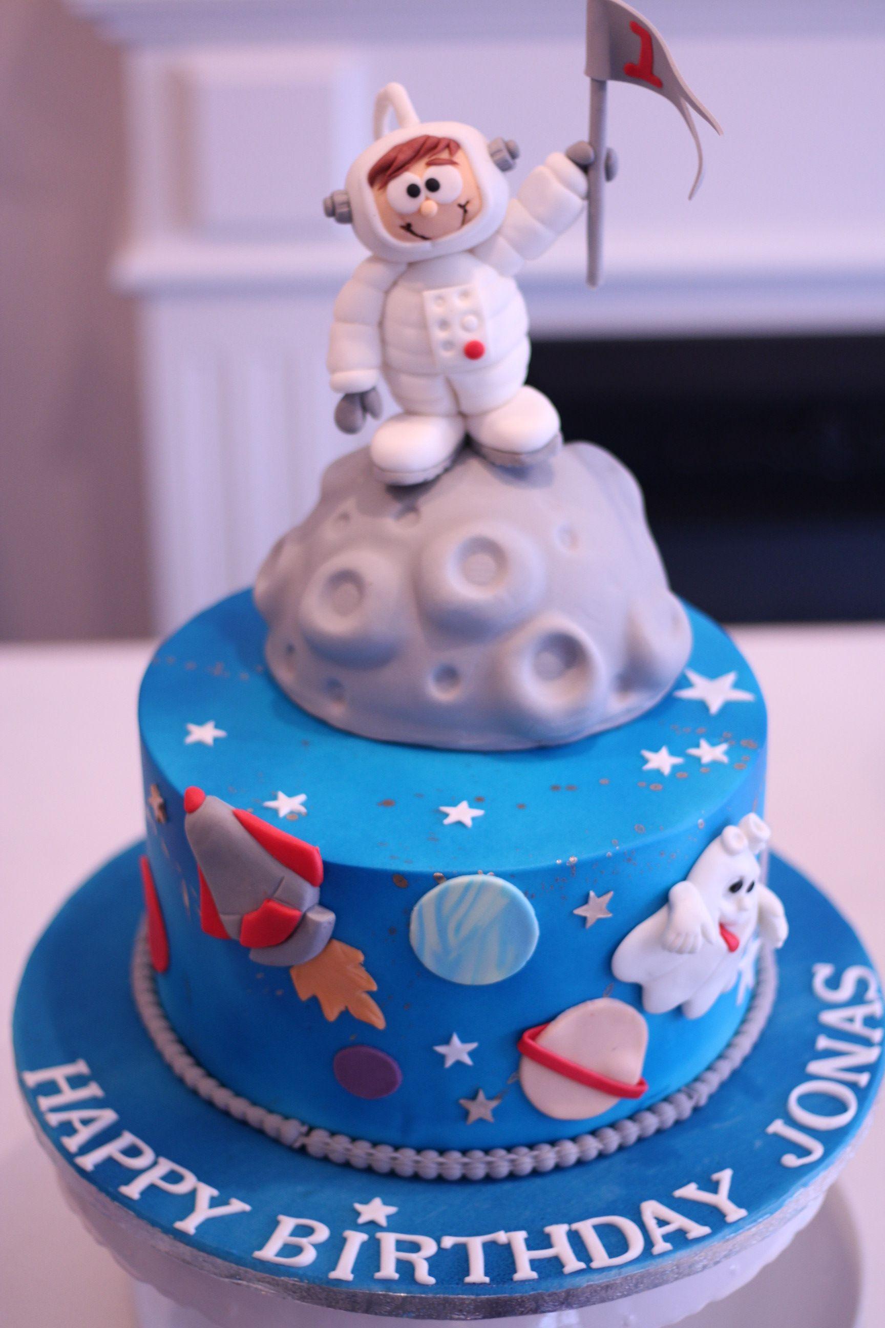 Astronautentorte Astronautentorte Weltraumtorte Dessert
