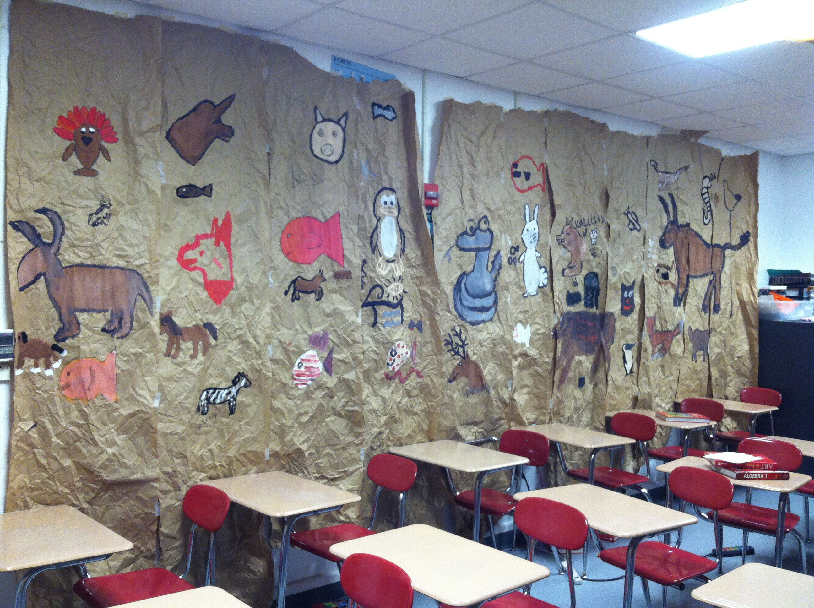 Cave Art Project This Is Awesome For The Classroom