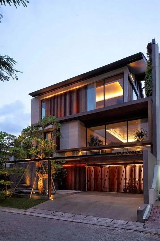 9 Marvelous Modern House Architecture Design Ideas 4 Facade House House Exterior Architecture House