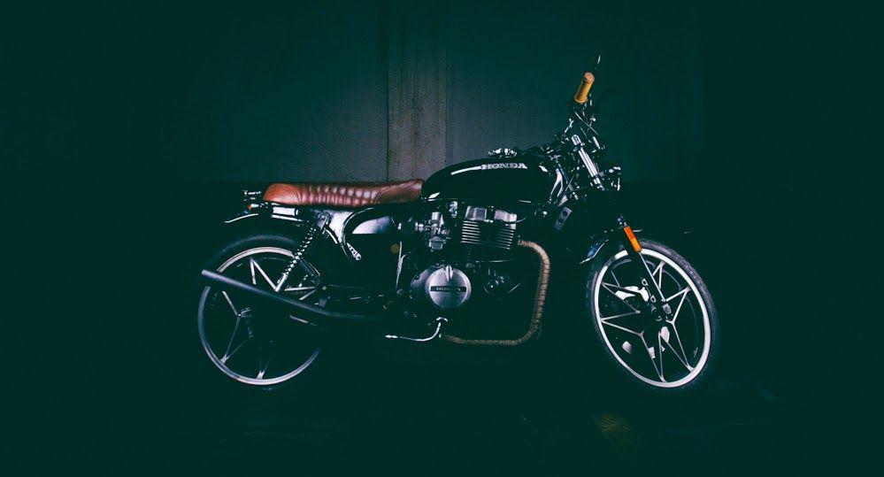 CB 450 by Marcus Tomaselli | Garagem Cafe Racer