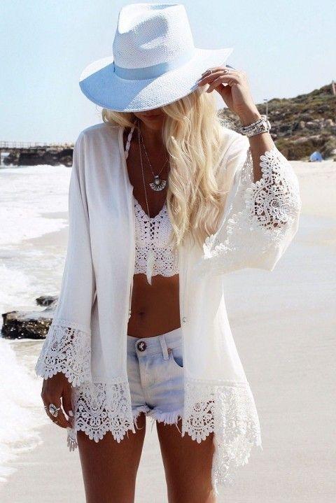 Beyaz Ozel Tasarim Kollari Dantel Plaj Elbisesi Pareo Icgiyimozel Com Online Bayan Deniz Plaj Alisveris Magazasinda Moda Stilleri Kadin Kiyafetleri Kadin Olmak