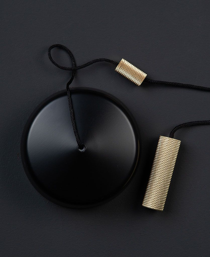 Black Pull Cord Switch Light Pull With Brass Weight In 2020 Bathroom Light Pulls Light Pull Light Pulls Cord