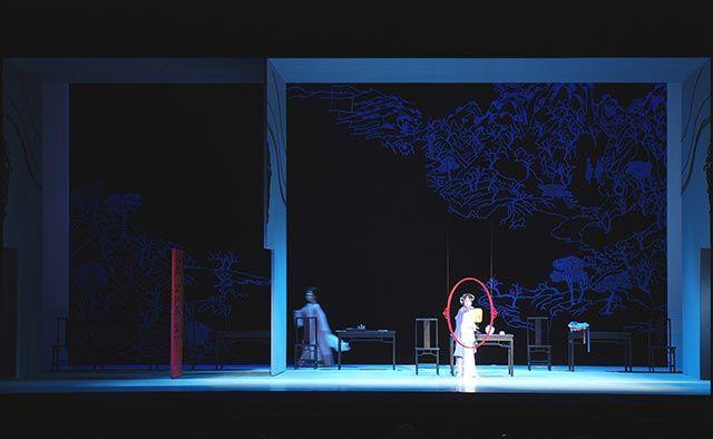 Liu Xinglin - A  Night In The Inn. Chinese Pingju Opera Theatre.
